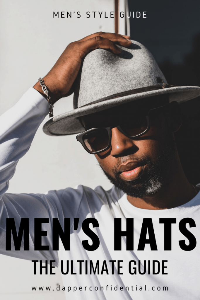 MEN'S HATS PIN FOR PINTEREST