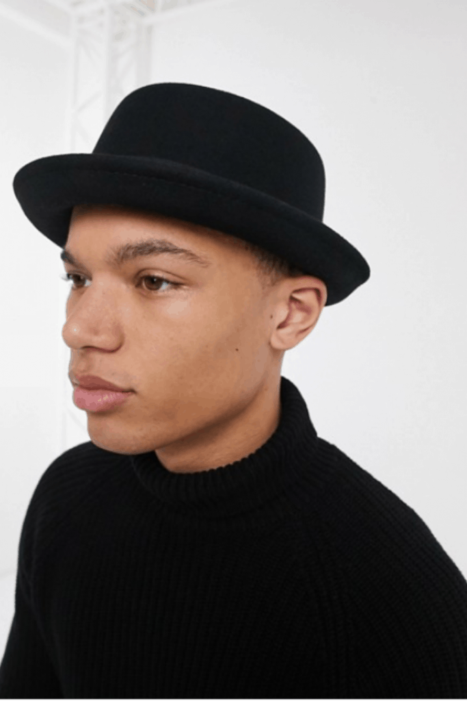 Asos design pork pie hat