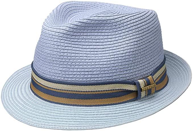 Stetson Licano Toyo Trilby Straw Hat Men