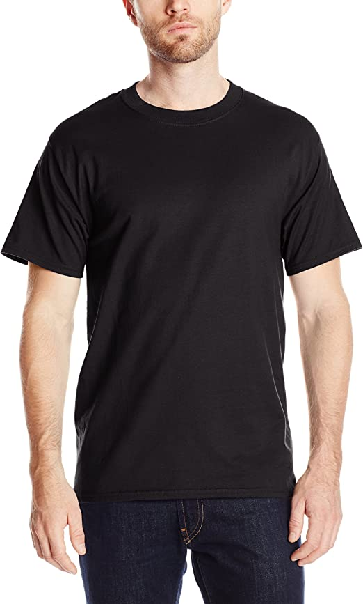 Men's Short Sleeve Beefy-t black t-shirt