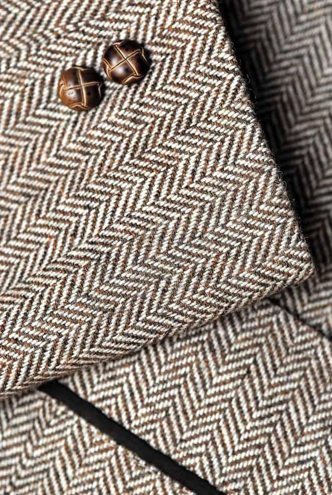 tweed jacket sleeve