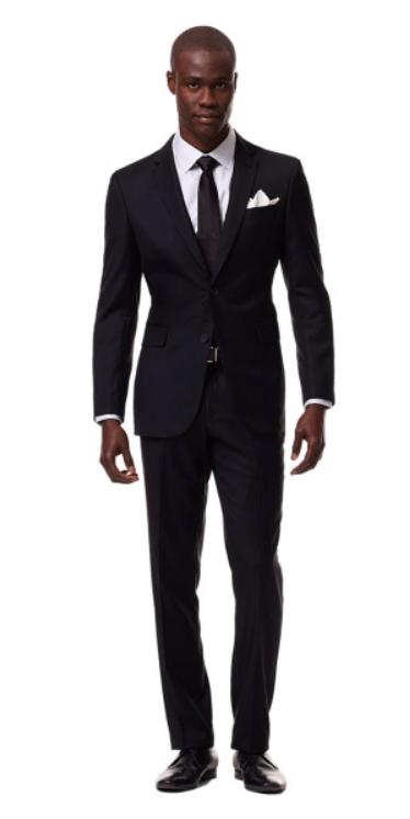 Black Suit by Black Lapel