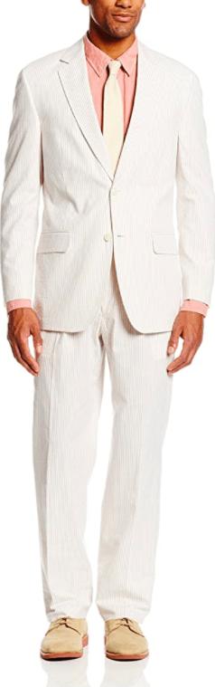 Palm Beach Men's Baxter Seersucker Suit