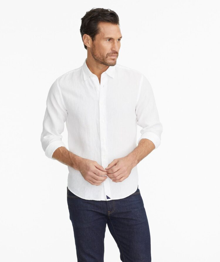 White shirt Untuckit