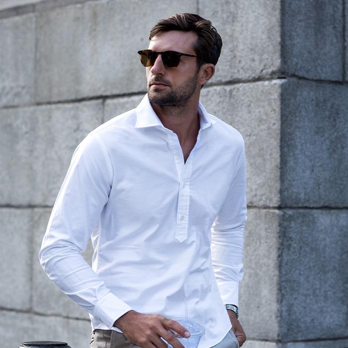 White shirt by Proper_Cloth