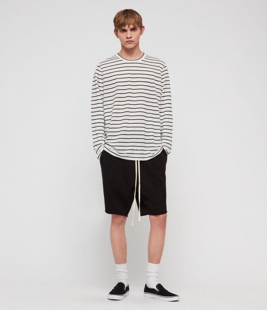 AllSants striped shirt
