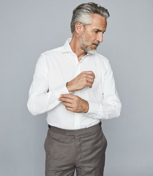 White shirt by Reiss