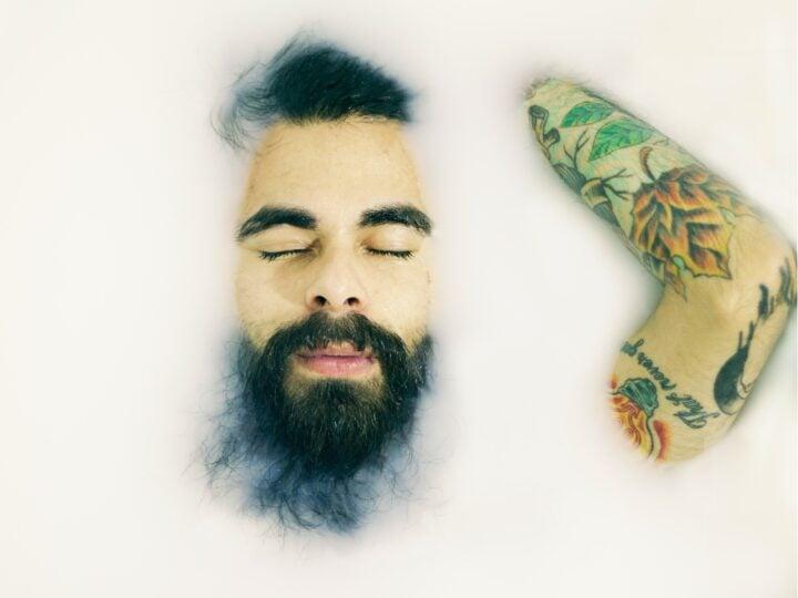 washed beard