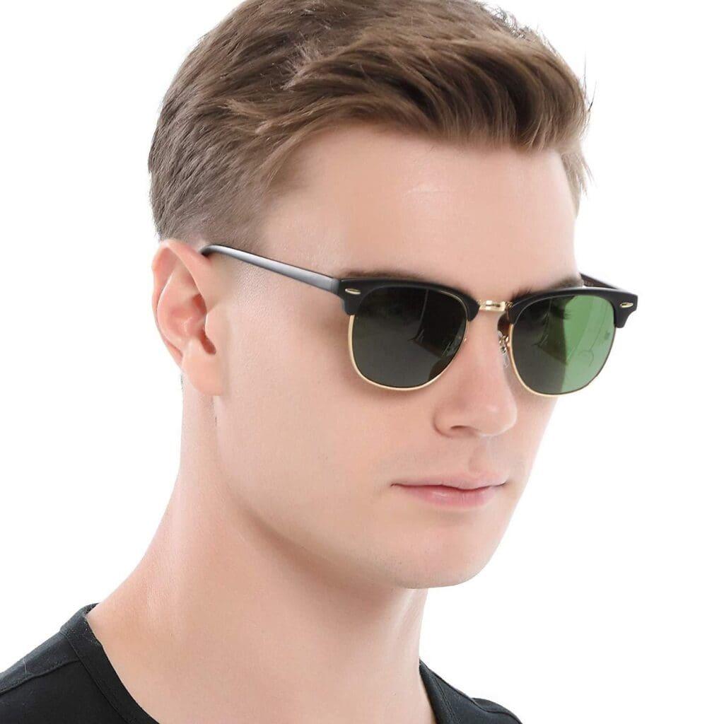 Basic Browline Sunglasses