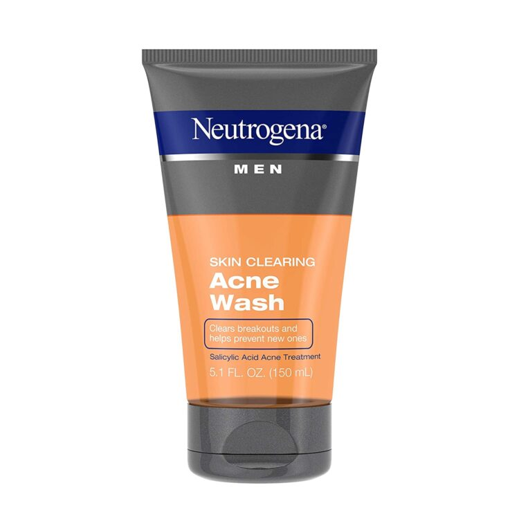 Neutrogena Men Skin Clearing Daily Acne Face Wash