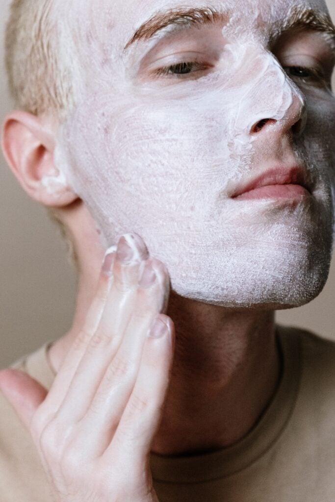 scrub face wash