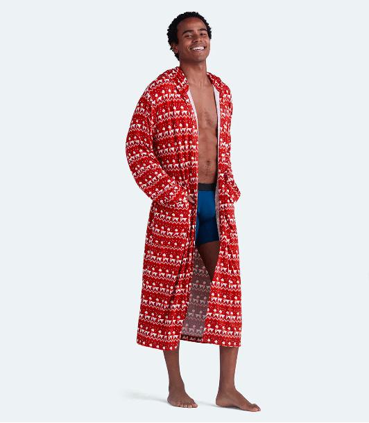 Unisex Hooded Modal Robe Llamarama