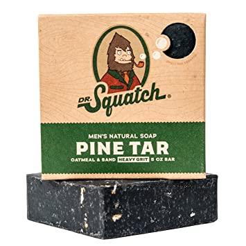 Dr. squatch soap pine