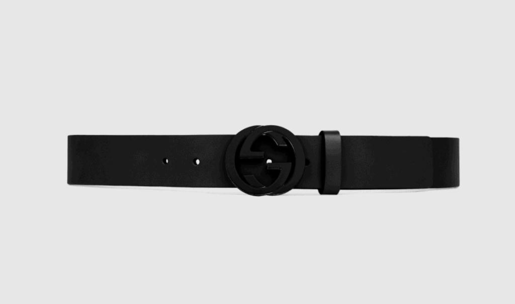 Gucci interlocking belt