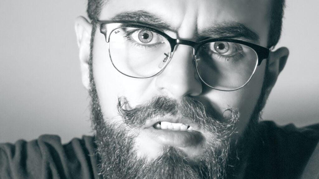 How To Shape A Beard glasses
