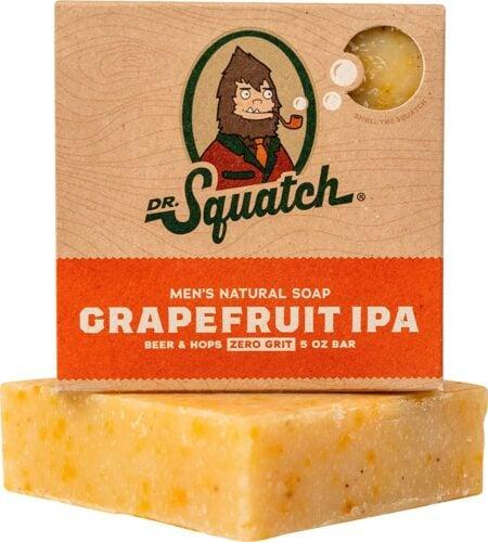 dr. squatch grapefruit