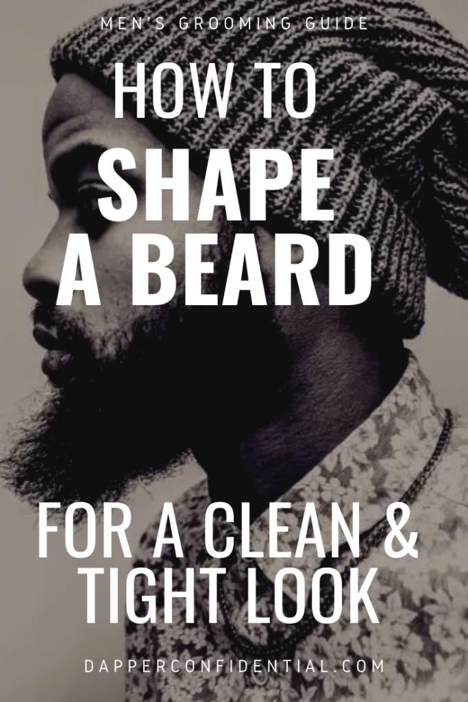 shape beard