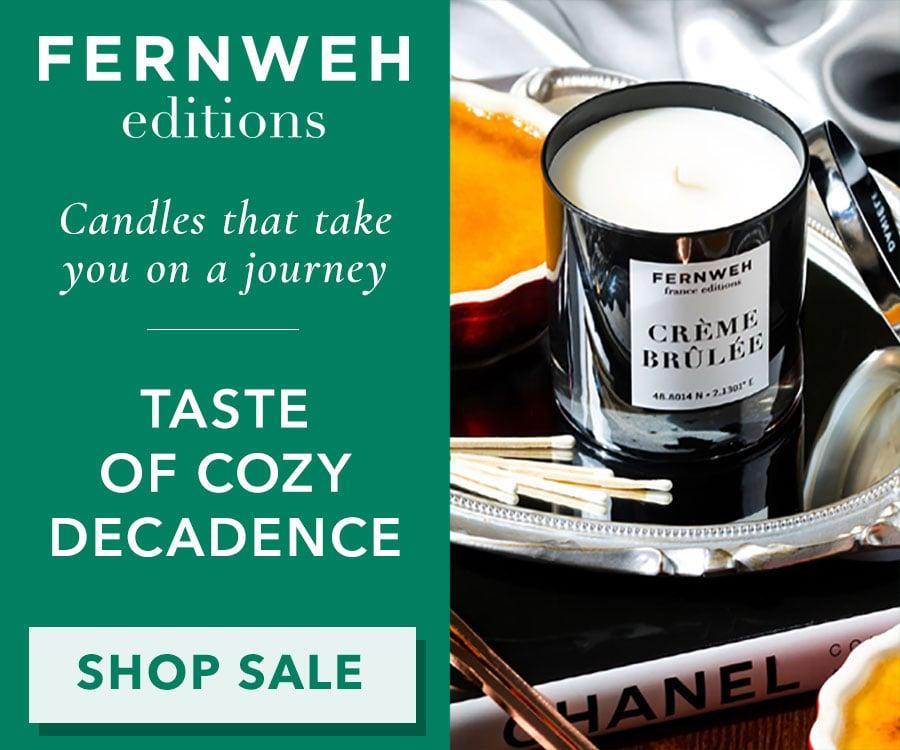 Fernweh Creme Brulee Candle