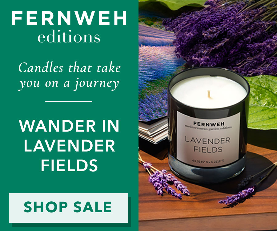 Fernweh Lavender Fields Candle