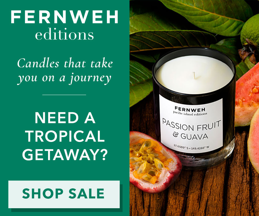 Fernweh Passion Fruit and Guava Candle
