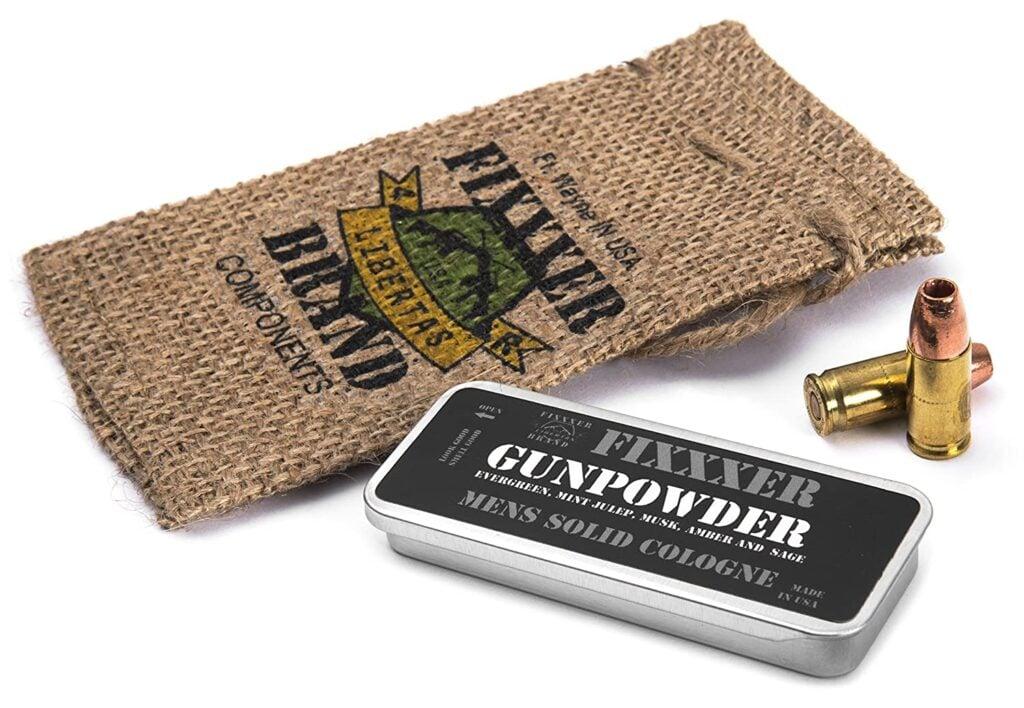 Fixxxer's Gunpowder Solid Cologne