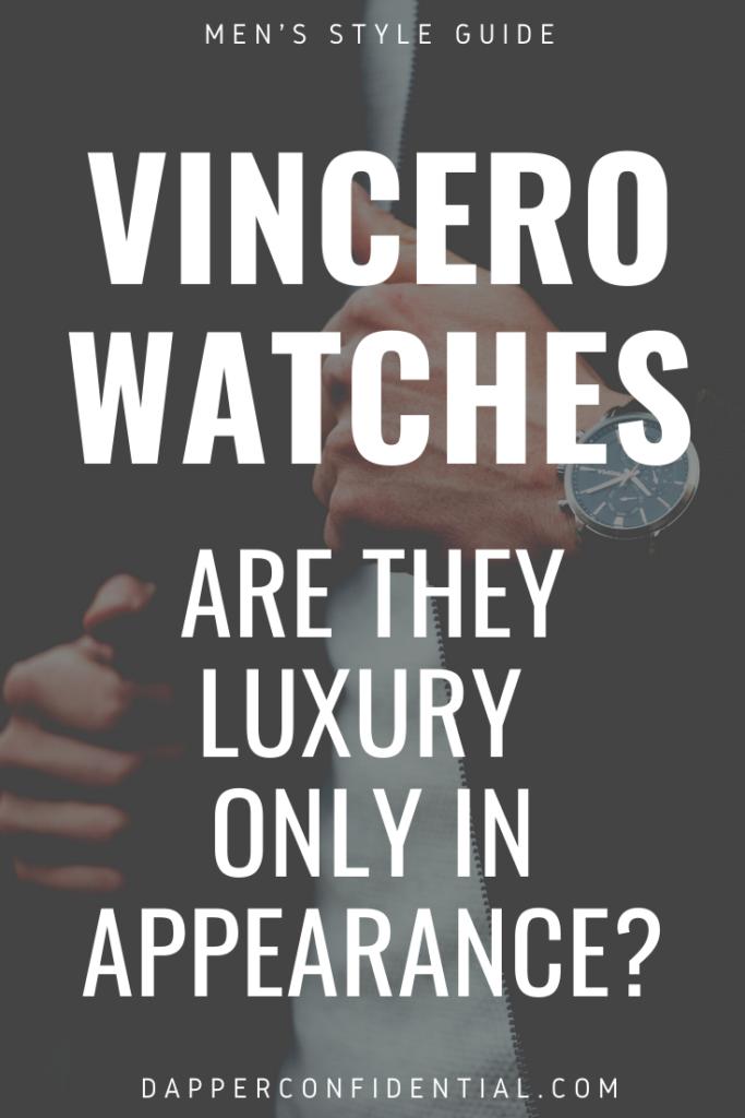 Vincero watches luxury