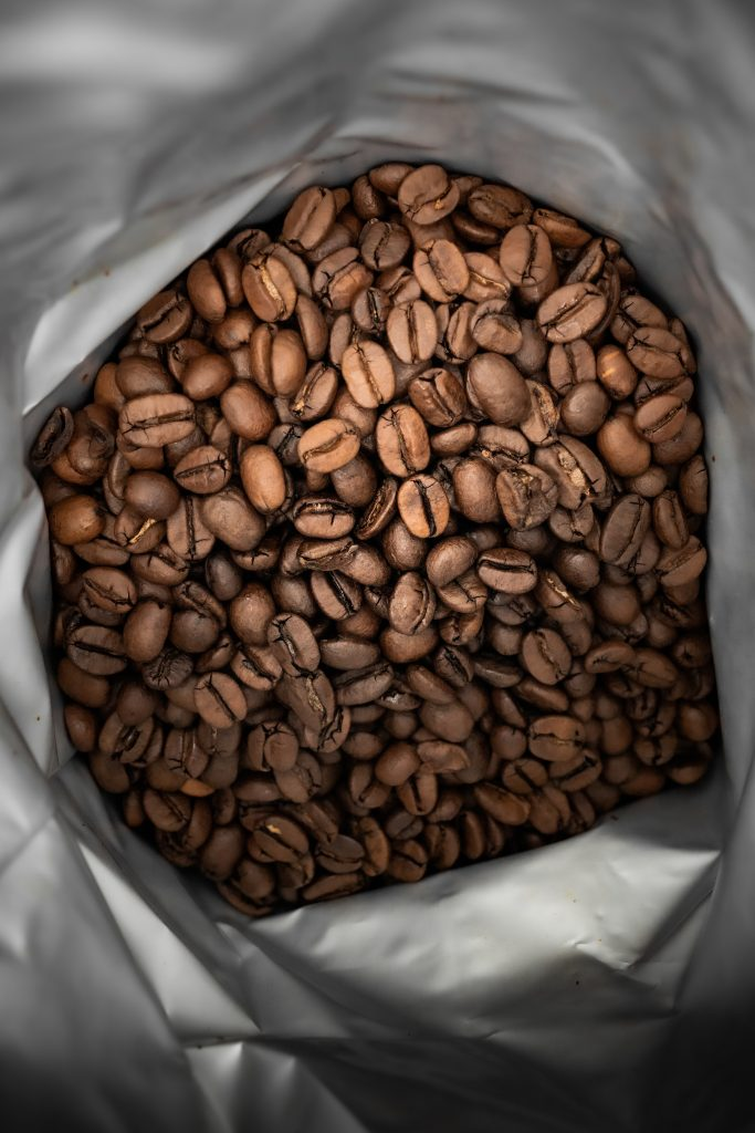 coffee beans polo red