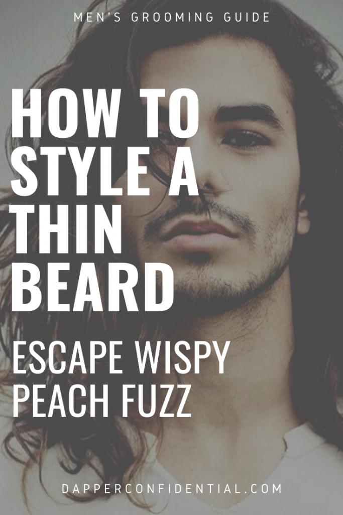 thin beards pinterest