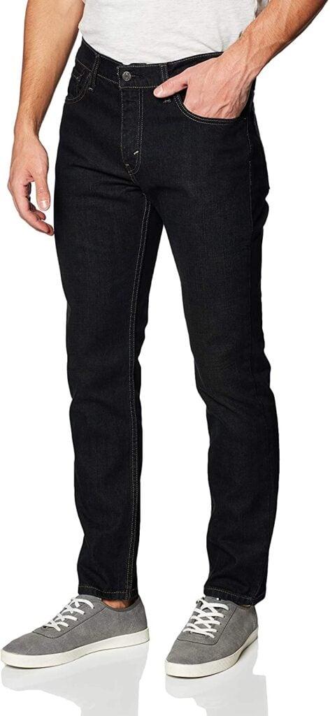Black Jeans for Men - Levis-Mens-511-Slim-Fit-Jeans