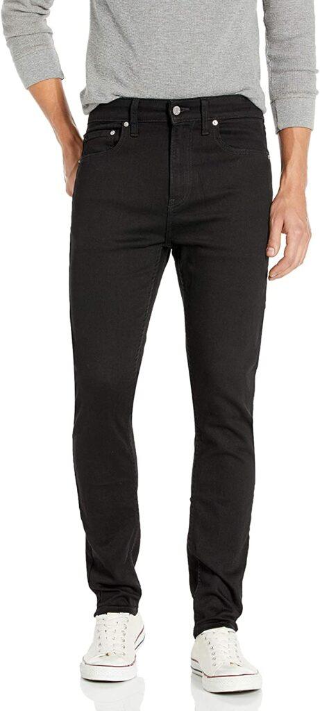 Black Jeans for Men - Calvin Klein Men's Skinny-Fit Jeans
