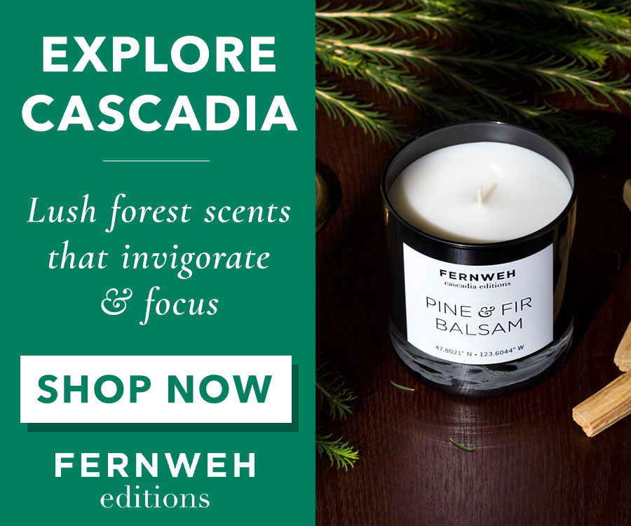 Fernweh Editions Pine & Fir Candle