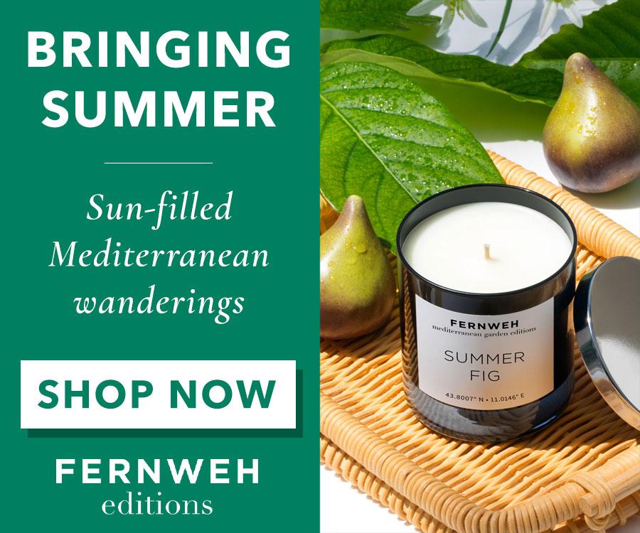Fernweh Summer Candles