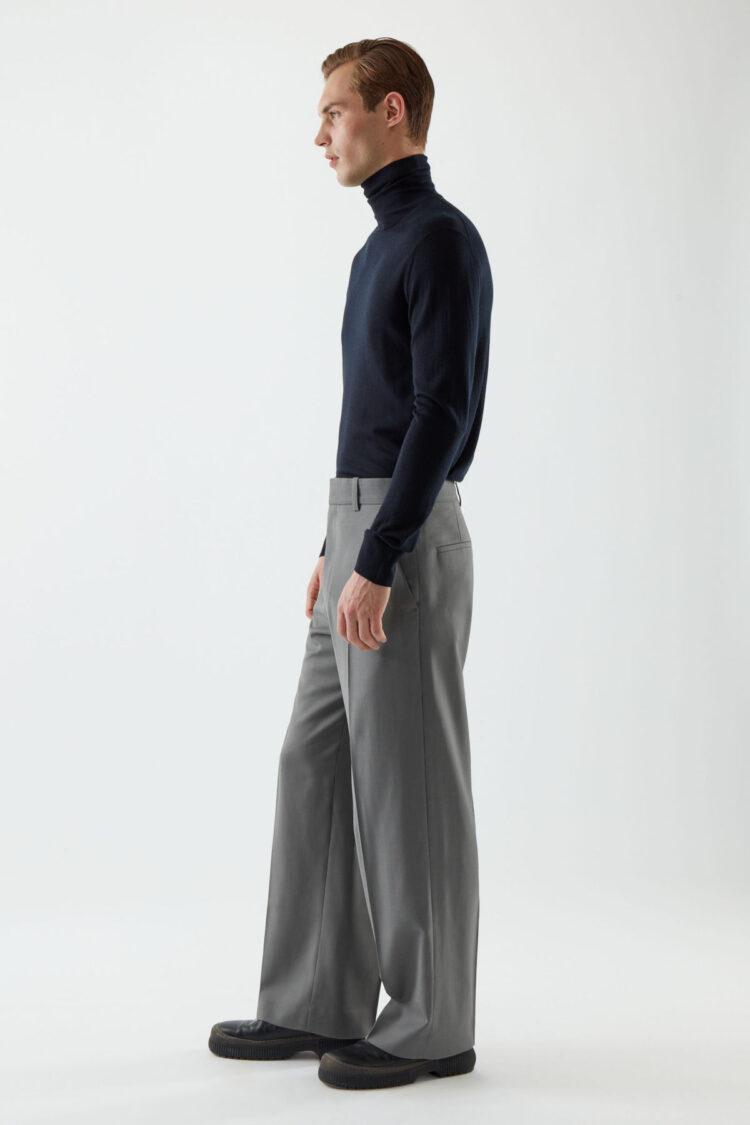 Men's Best Pants - COS Long Wide-Leg Pants