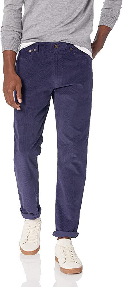 Men's Best Pants - J Crew Men's Straight-Fit Flex Corduroy Pants