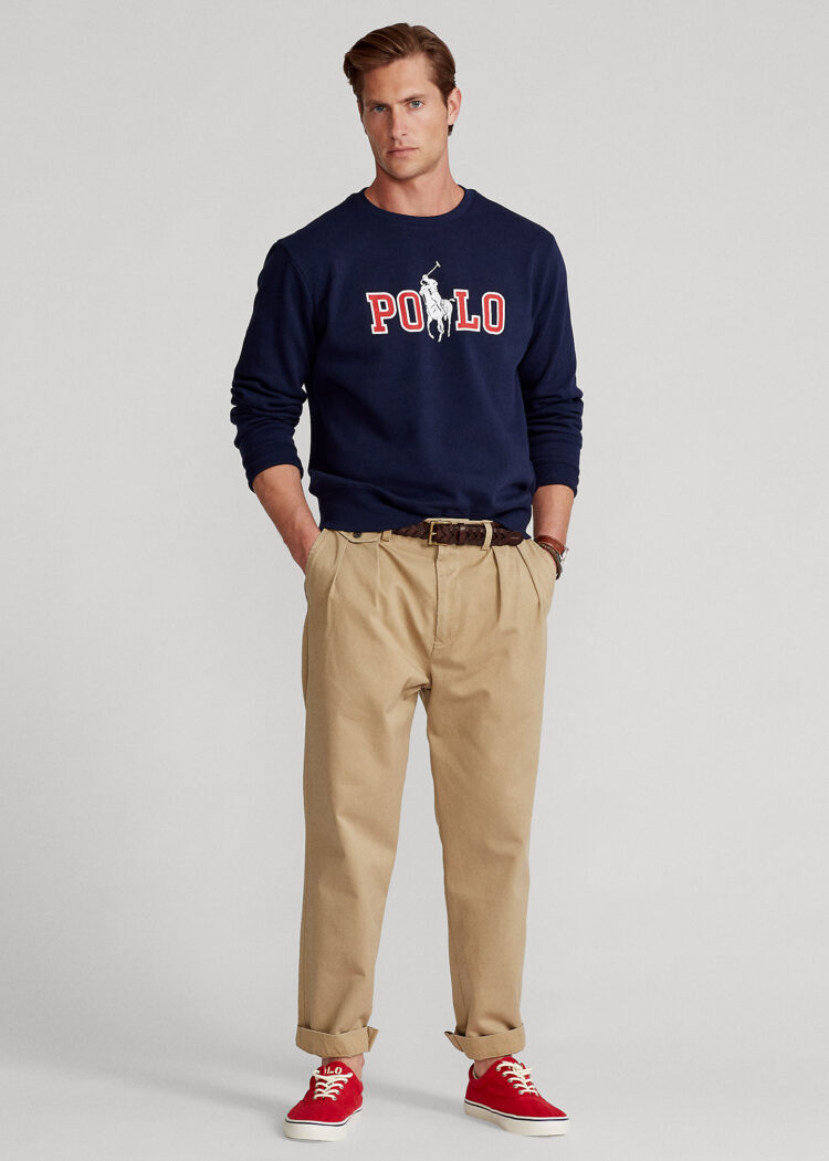 Men's Best Pants - Ralph Lauren Relaxed Fit Pleated Twill Pant