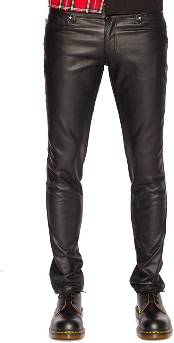 Mens Best Pants - Tripp NYC Faux Leather Pant