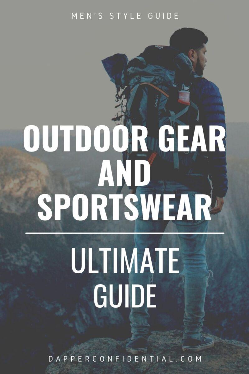 outdoor gear and sportswear