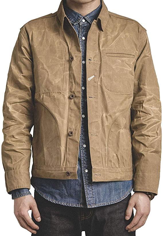 waxed canvas Jacket