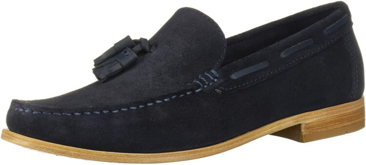 Driver Club USA Men's Made in Brazil Hampton Leather Sole Tassle Loafer