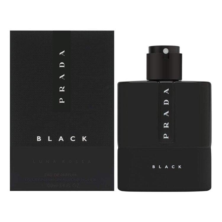 Prada Luna Rossa Black for Men Eau de Parfum Spray, 3.4 Ounce