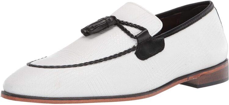 STACY ADAMS Men's Bianchi Tassel Slip-on Loafer