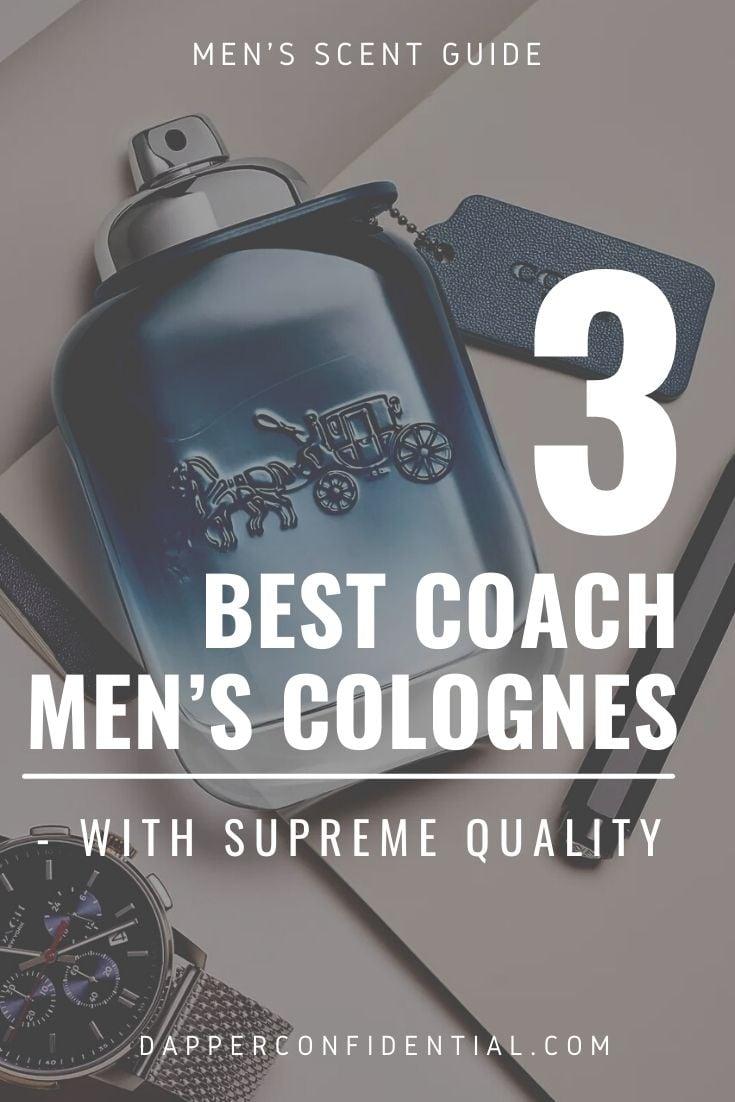 best coach men's colognes