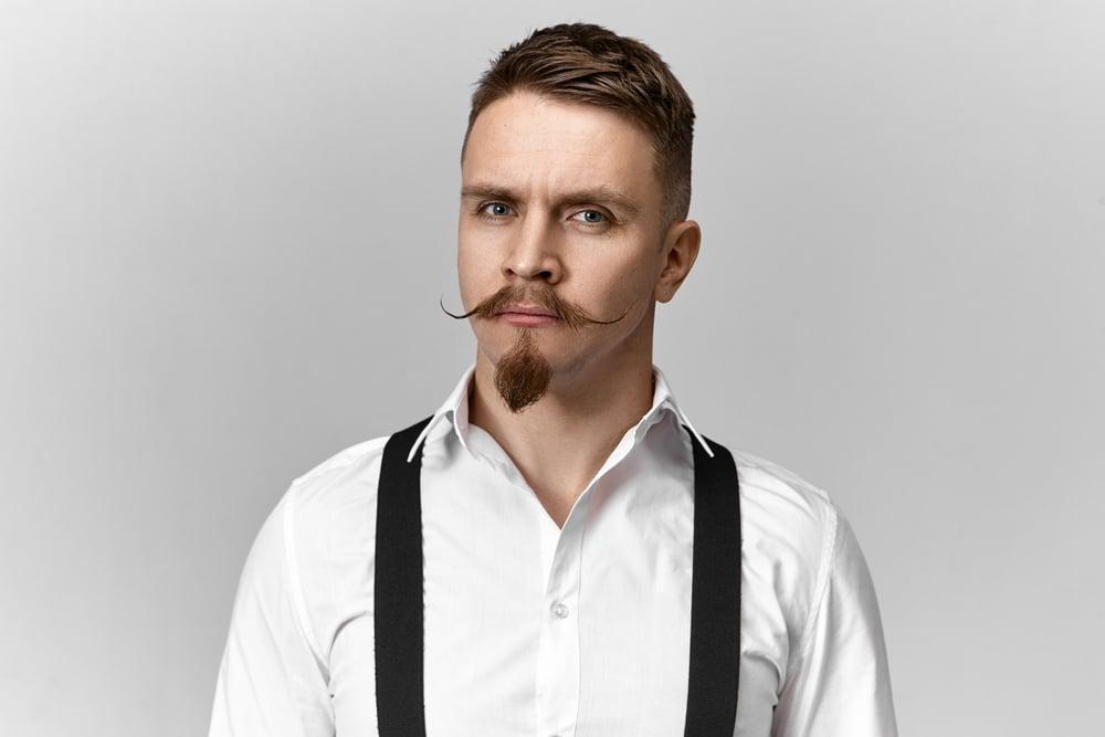 man-with-van-dyke-beard