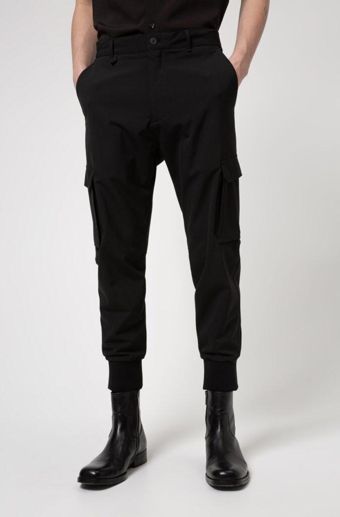 Cargo_Pants_-_Hugo_Boss_Slim-fit_cargo_pants_in_stretch_twill