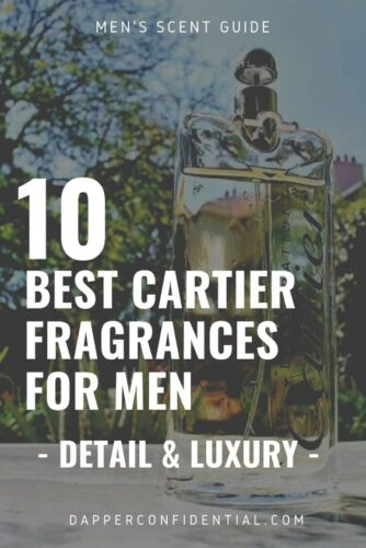 Best Cartier Fragrances for Men