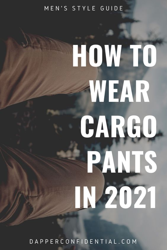 How to wear your cargo pants