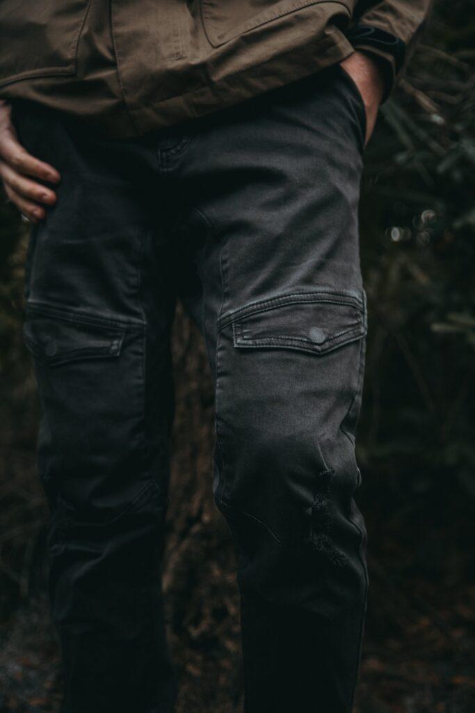 dark cargo pants
