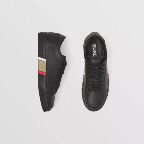 Sneakers Burberry Bio based Sole Leather Sneakers