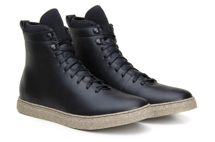 Sneakers Bravem Gentleman Weekend Sneaker High Top Black