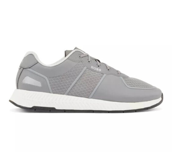 Sneakers Hugo Boss Hybrid trainers with reflective accents and bamboo cotton insole